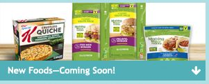 New Foods Coming Soon