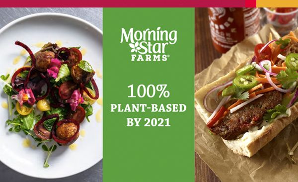 Big News! Morningstar Farms® Going All Vegan by 2021